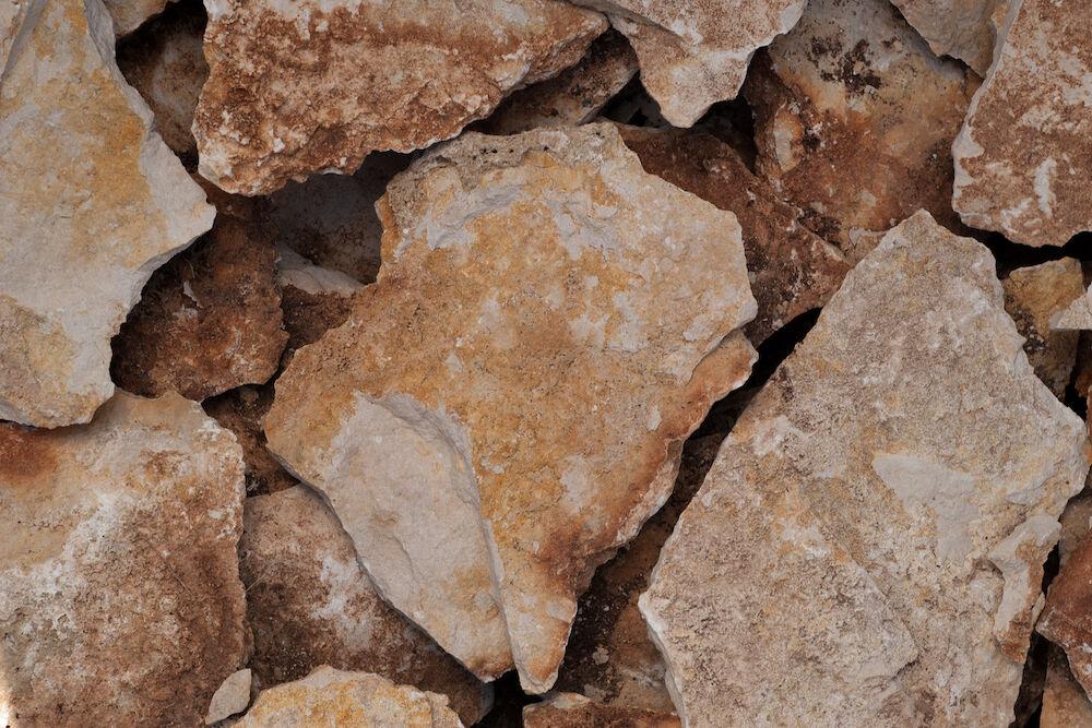 bolgár rusztikus kő fehér